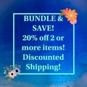 Other - ❤️BUNDLE & SAVE! Discounted Shipping!!❤️
